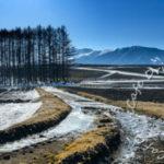 冬の浅間大滝周辺