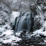 2月の軽井沢と浅間大滝